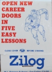 Zilog Correspondence Course Matchbook Cover
