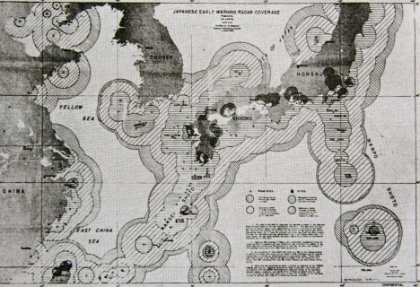 Example of Radar Coverage - Japan in WWII