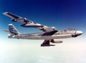 B-47 - primary Strategic Air Command Bomber in the 1950's