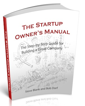 steve blank startup owners manual Instruction Manual