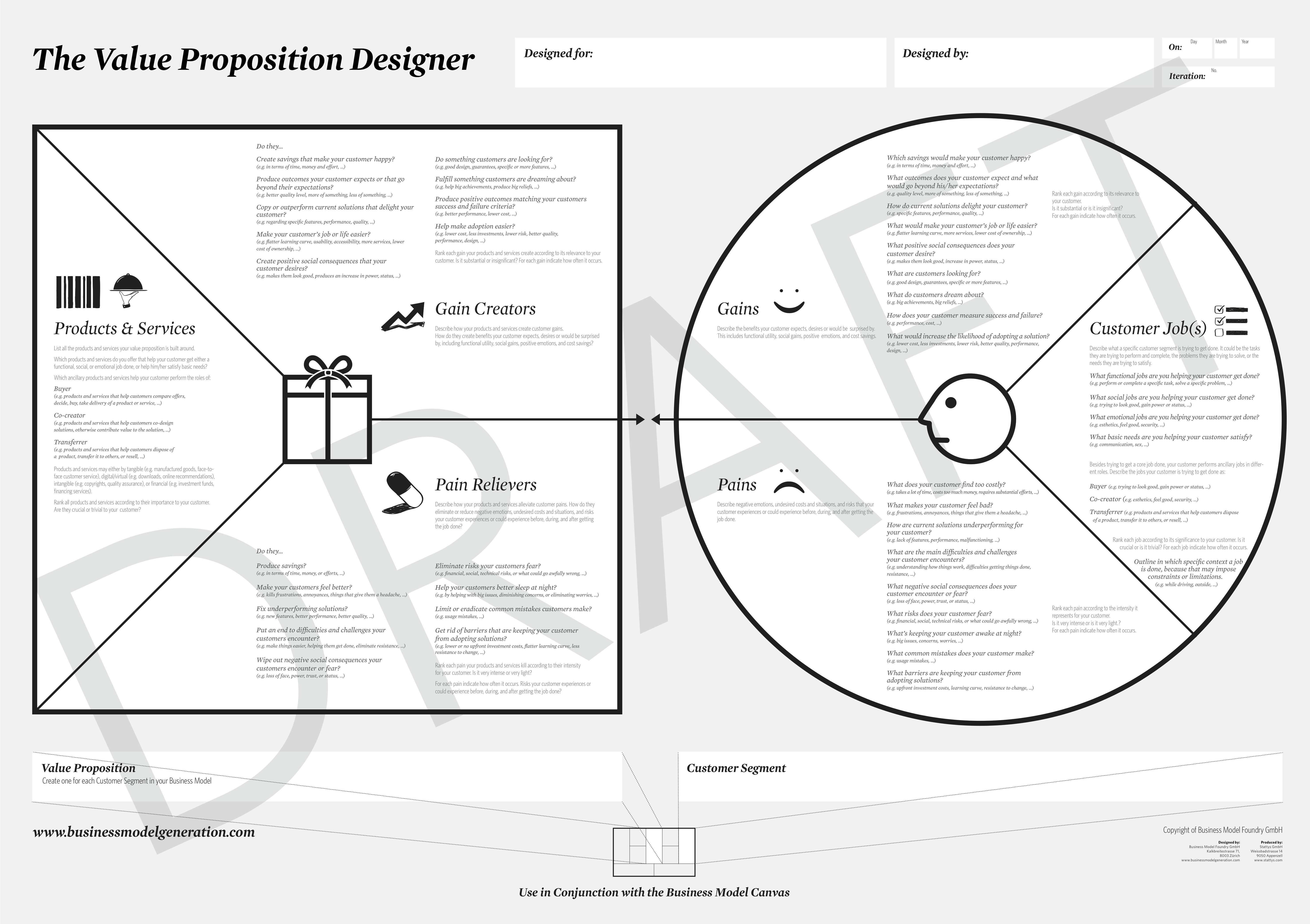 explain the value proposition and give 'value-proposition' is a term much-bandied-about in business-models and the like yet what exactly is it a tweet by alex osterwalder pointed me to an article by steve blank on 'how to build a billion-dollar startup', which included this brief section on the role of the product or service.