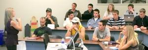 Sidnee Peck ASU Class