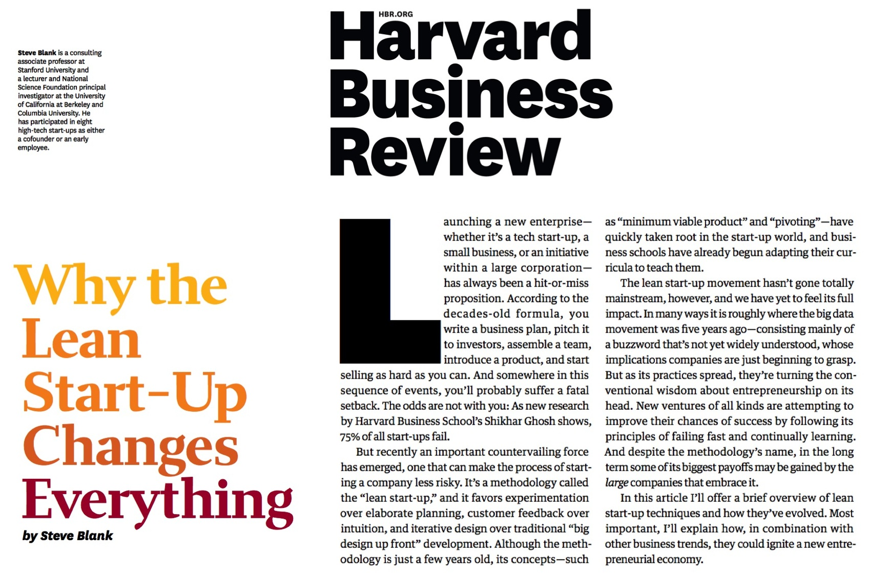 The Magazine - HBR - Harvard Business Review
