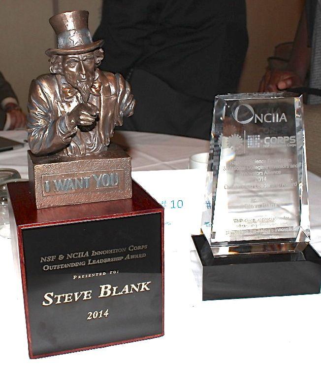 Steve Blank NSF award