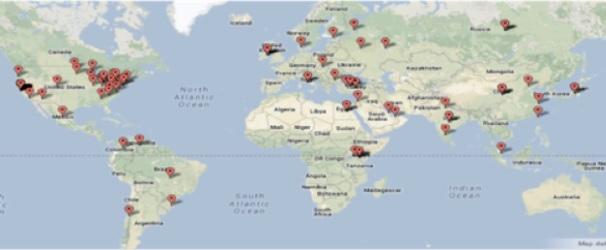 Haas global footprint